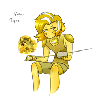 Yellow Topaz by ShiroShototsu