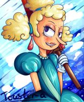 Cuphead  Sally Stageplay by Toaster-a