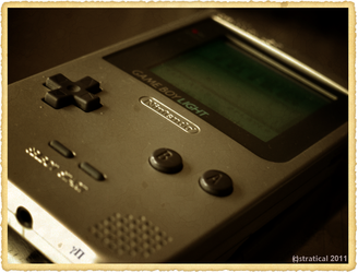 Old Light - Gameboy by stratical