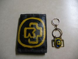 Ramstein Wallet and Key Chain Set by LyraAlluse