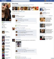River Song's Facebook Page by The-Hellish-Gnome