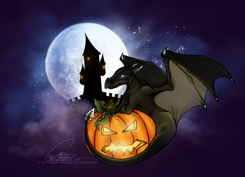 Hail to the Pumpkin King by ValkAngie