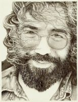 Jerry garcia by Cutshaw1