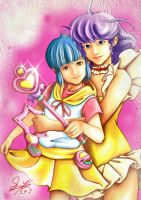Creamy Mami, the Magic Angel by skyshek