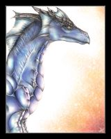 Avalon, the Blue Dragon by Sastrei