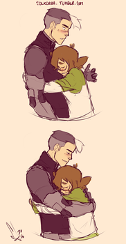 Shiro and Pidge by SolKorra