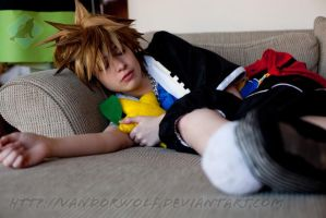 Kingdom Hearts: Sleepy Time Sora by VandorWolf