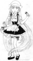 Chii in her Lolita Maid Outfit by Bow-and-Arrow