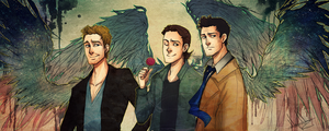 SPN: Angels by kaiser-mony