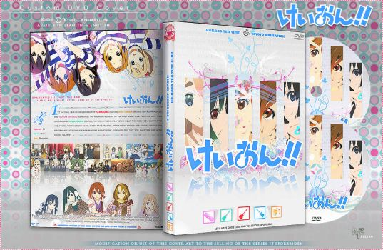 Dvd Cover: K-On 2 by N1z1ra