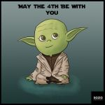 Yoda - May the 4th by Saza-Productions