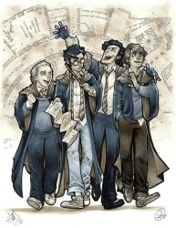 Harry Potter: The Marauders by AdamWithers