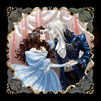 Labyrinth Digital Color by Tophats-and-Teacups