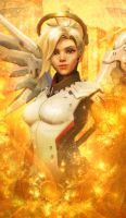 Mercy Banner by Shadow-Wolfen