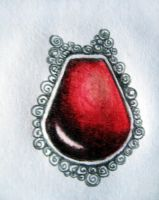 Red pendant by pankreas67