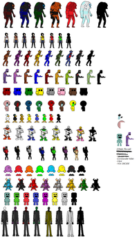 Custom Indie Game Character Sprites by GothicStatic
