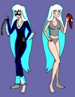 Felicia and Black Cat by streetgals9000