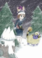 :Challenging The Blizzard -R2: by Sparkle-And-Sunshine