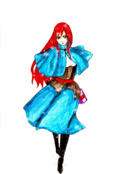 From Erza,with love by AdinaVo