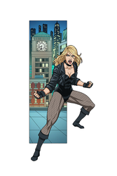 Black Canary commission by phil-cho