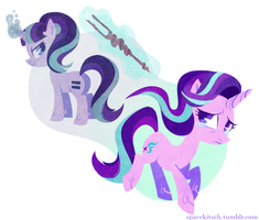 The Two Starlights by spacekitsch