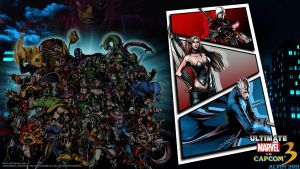 UMvC3 PS3 Wallpaper 3 by TheALVINtaker