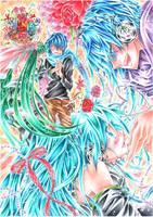 KAITO+Miku-Vocaloid by ayasemn