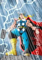Thor OdinSon Marvel Comics Group by victorgrafico