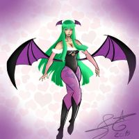Morrigan by MBordallo
