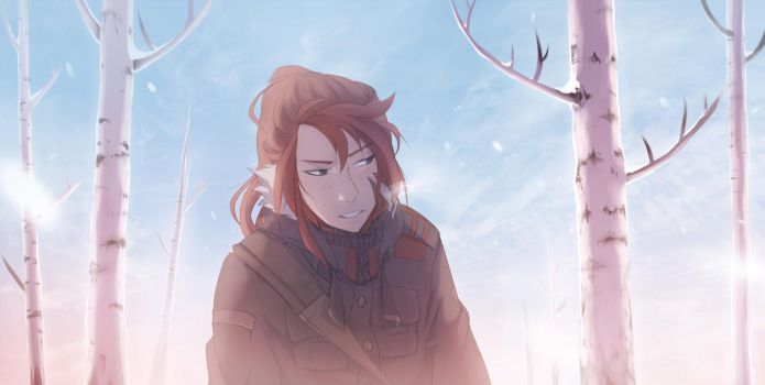 Soft Snow by synderen