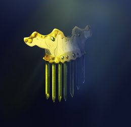 Mramaid comb for Artefact Battle by XGingerWR