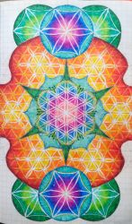 Flower of life by nunt