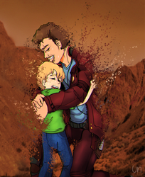 request  /  Drake Quill  Peter Quill by UnUsuariomas79