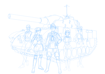Valkyria Chronicles: Squad 7 (WIP) by Dimaar