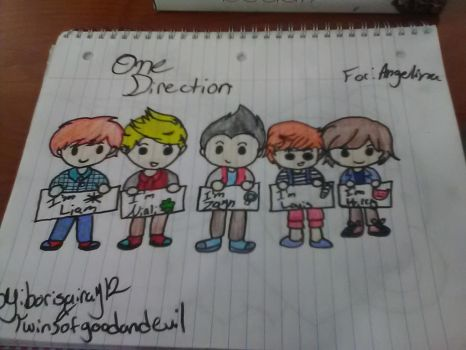 one direction by borisairay12