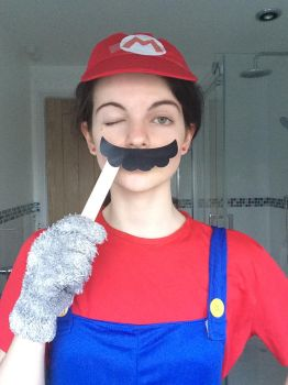 Mario cosplay 6 by TotallyDeviantLisa
