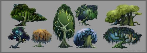 Forest Trees - Concepts by CityState