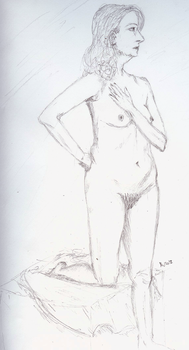Nude 1 by melydia