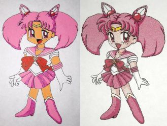 Sailor Chibi Moon by DavisJes