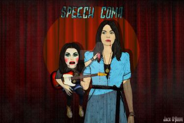 Blood Red Shoes - Speech Coma by JackOKeefe