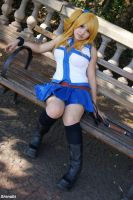 Lucy Heartfilia cosplay by LayzeMichelle