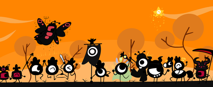 .:Patapon 10th Anniversary:. by Lovelybug1071