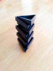 Triominos sculpture- Tower by MrDannyD