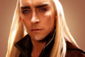 Thranduil of Woodland Realm by Nadia-Ch