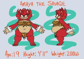 Amaya the Savage by Neko-gami