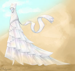 White Rose Farer by EndlessShower