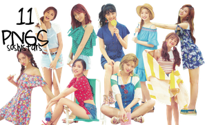 TWICE PNG Pack {TWICEZINE} by soshistars