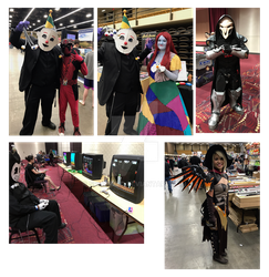 Hub Comic Con 2017 by SpiderZed