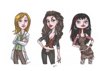 Lost Girls... by VODKABABY