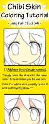 Chibi Skin Coloring Tutorial by CeciliaRinChan